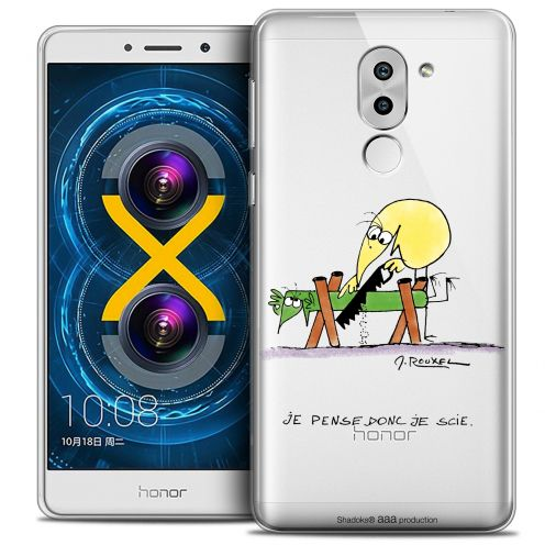Coque Gel Huawei Honor 6X Extra Fine Les Shadoks® - Je pense Donc