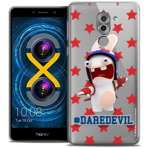 Coque Gel Huawei Honor 6X Extra Fine Lapins Crétins™ - Dare Devil