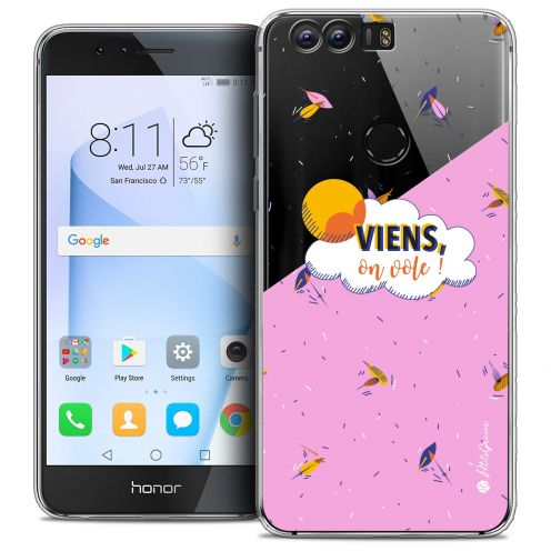 "Coque Gel Huawei Honor 8 (5.2"") Extra Fine Petits Grains® - VIENS, On Vole !"