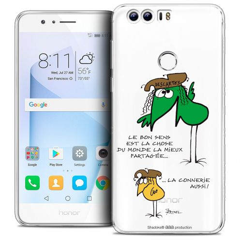 "Coque Gel Huawei Honor 8 (5.2"") Extra Fine Les Shadoks® - Le Partage"