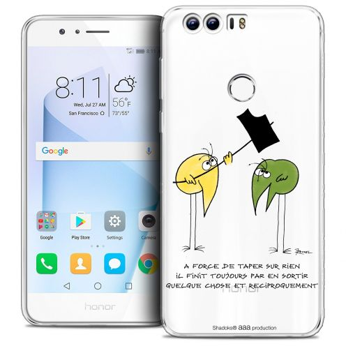 "Coque Gel Huawei Honor 8 (5.2"") Extra Fine Les Shadoks® - A Force"