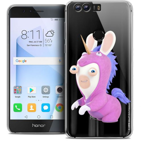 """Coque Gel Huawei Honor 8 (5.2"""") Extra Fine Lapins Crétins™ - Licorne"""