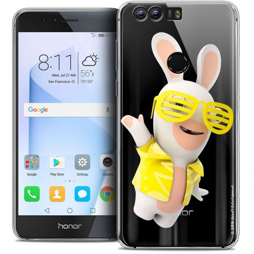 """Coque Gel Huawei Honor 8 (5.2"""") Extra Fine Lapins Crétins™ - Sun Glassss!"""