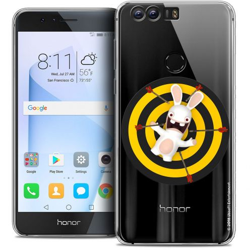 """Coque Gel Huawei Honor 8 (5.2"""") Extra Fine Lapins Crétins™ - Target"""