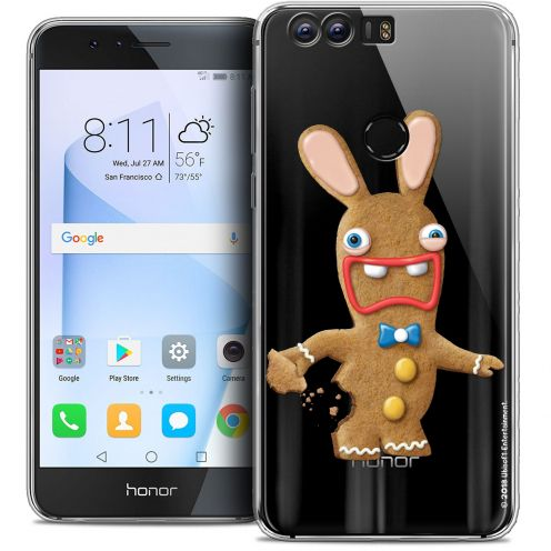 "Coque Gel Huawei Honor 8 (5.2"") Extra Fine Lapins Crétins™ - Cookie"
