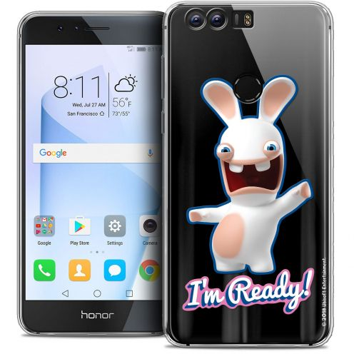 """Coque Gel Huawei Honor 8 (5.2"""") Extra Fine Lapins Crétins™ - I'm Ready !"""