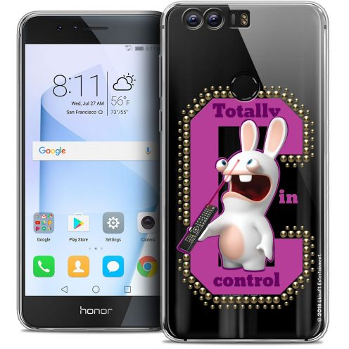 """Coque Gel Huawei Honor 8 (5.2"""") Extra Fine Lapins Crétins™ - In Control !"""
