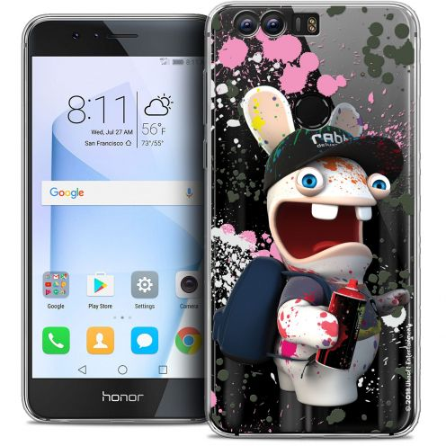 "Coque Gel Huawei Honor 8 (5.2"") Extra Fine Lapins Crétins™ - Painter"