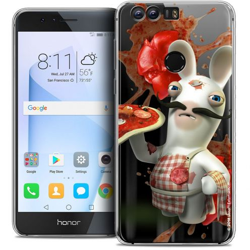 """Coque Gel Huawei Honor 8 (5.2"""") Extra Fine Lapins Crétins™ - Cuisinier"""
