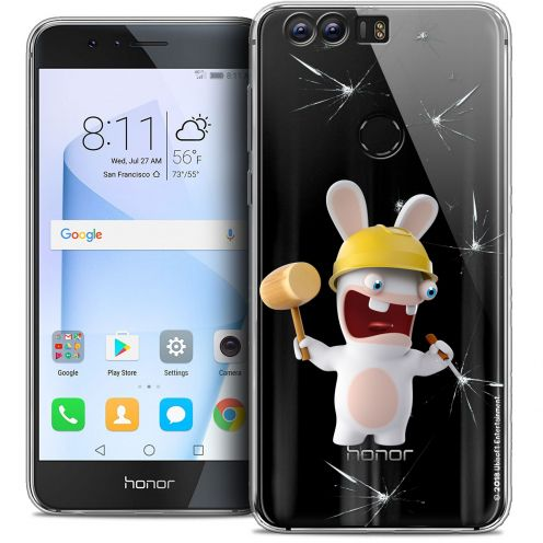 """Coque Gel Huawei Honor 8 (5.2"""") Extra Fine Lapins Crétins™ - Breaker"""