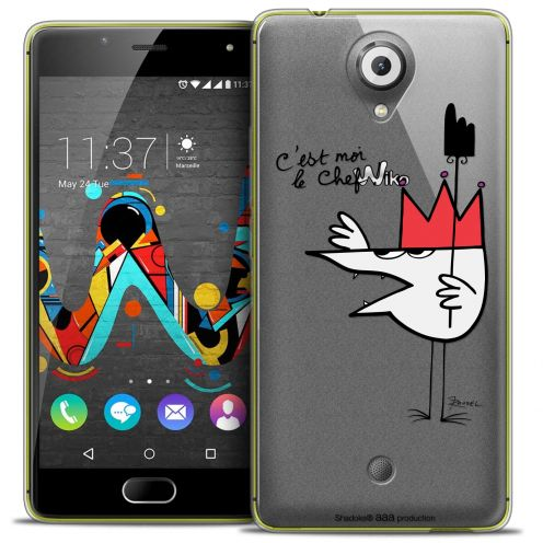 Coque Gel Wiko U Feel Extra Fine Les Shadoks® - Le Chef