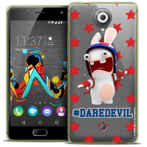 Coque Gel Wiko U Feel Extra Fine Lapins Crétins™ - Dare Devil