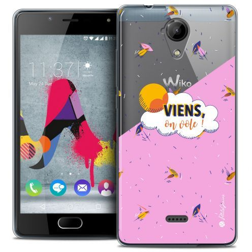 Coque Gel Wiko U Feel LITE Extra Fine Petits Grains® - VIENS, On Vole !