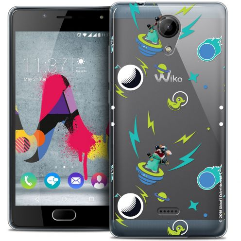 Coque Gel Wiko U Feel LITE Extra Fine Lapins Crétins™ - Space 1