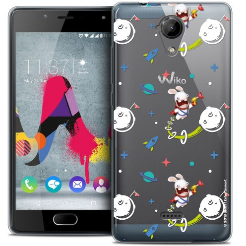 Coque Gel Wiko U Feel LITE Extra Fine Lapins Crétins™ - Space 2