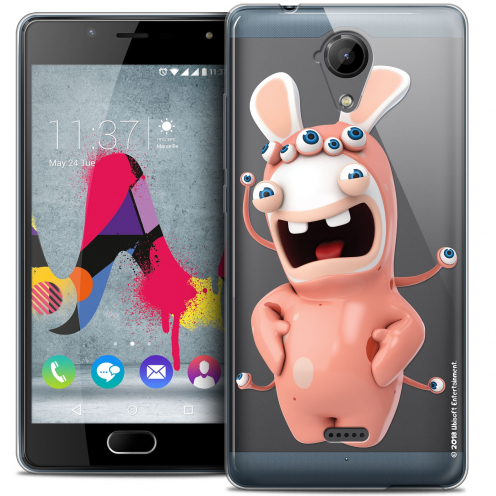 Coque Gel Wiko U Feel LITE Extra Fine Lapins Crétins™ - Extraterrestre