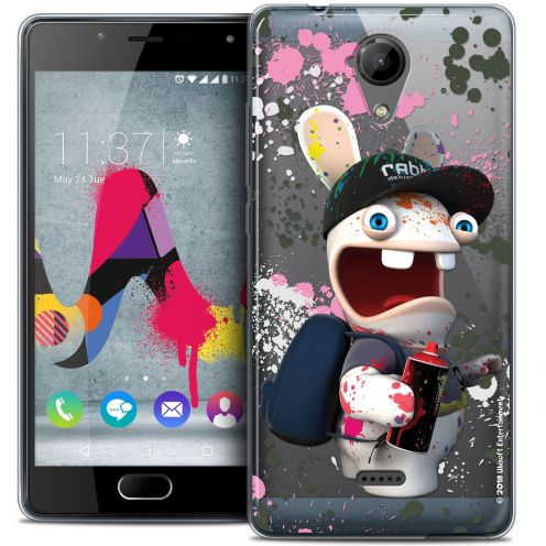 Coque Gel Wiko U Feel LITE Extra Fine Lapins Crétins™ - Painter