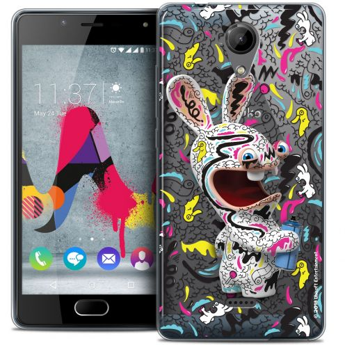Coque Gel Wiko U Feel LITE Extra Fine Lapins Crétins™ - Tag