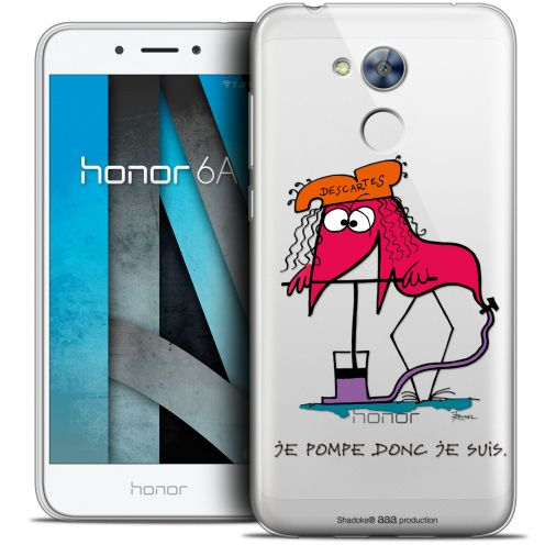 """Coque Gel Huawei Honor 6A (5"""") Extra Fine Les Shadoks® - Donc Je Suis"""