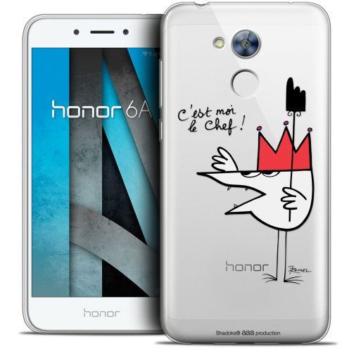 "Coque Gel Huawei Honor 6A (5"") Extra Fine Les Shadoks® - Le Chef"