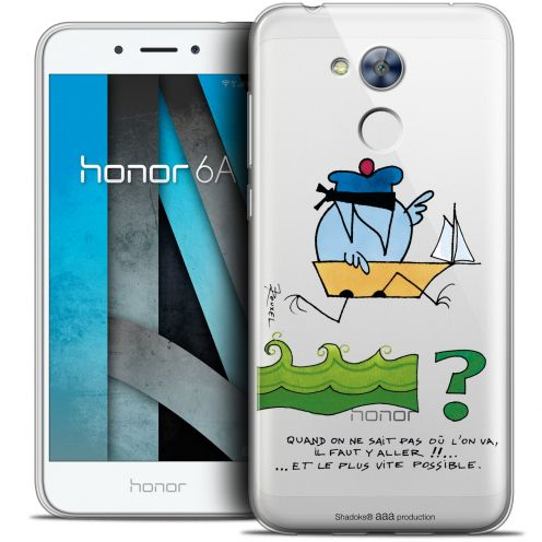 """Coque Gel Huawei Honor 6A (5"""") Extra Fine Les Shadoks® - Il Faut Y Aller !!"""