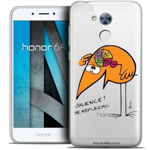 """Coque Gel Huawei Honor 6A (5"""") Extra Fine Les Shadoks® - Silence !"""