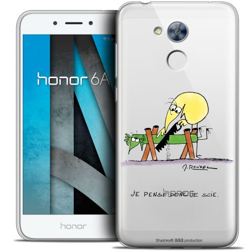 """Coque Gel Huawei Honor 6A (5"""") Extra Fine Les Shadoks® - Je pense Donc"""