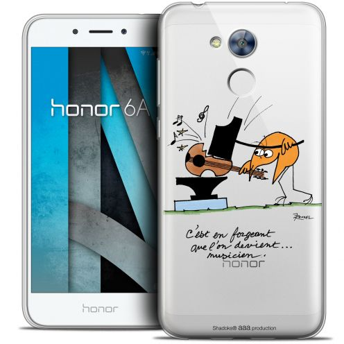 """Coque Gel Huawei Honor 6A (5"""") Extra Fine Les Shadoks® - Musicien"""