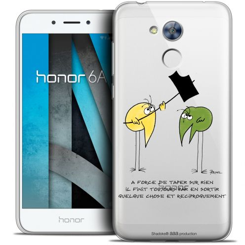 "Coque Gel Huawei Honor 6A (5"") Extra Fine Les Shadoks® - A Force"