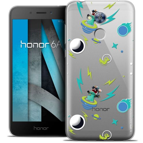 "Coque Gel Huawei Honor 6A (5"") Extra Fine Lapins Crétins™ - Space 1"