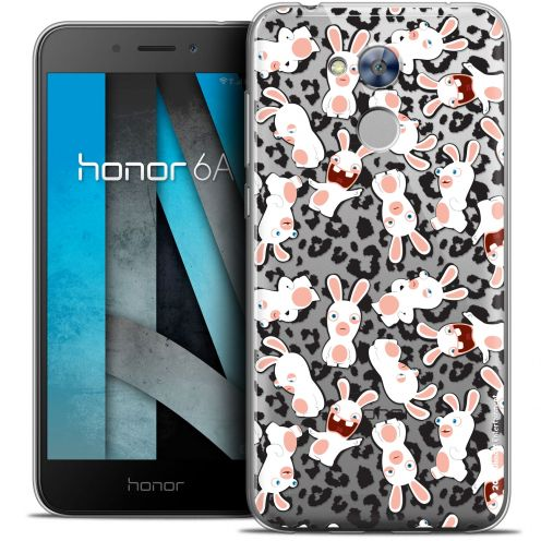 "Coque Gel Huawei Honor 6A (5"") Extra Fine Lapins Crétins™ - Leopard Pattern"