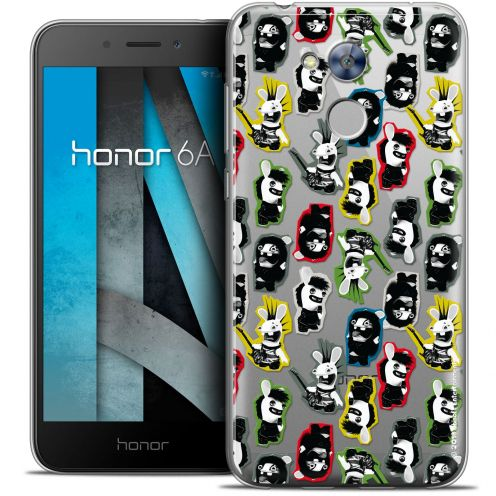 """Coque Gel Huawei Honor 6A (5"""") Extra Fine Lapins Crétins™ - Punk Pattern"""