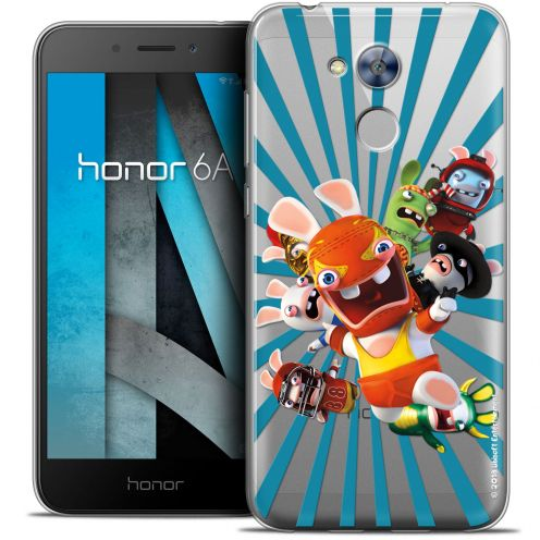 """Coque Gel Huawei Honor 6A (5"""") Extra Fine Lapins Crétins™ - Super Heros"""