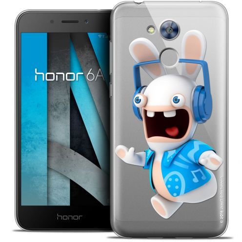 """Coque Gel Huawei Honor 6A (5"""") Extra Fine Lapins Crétins™ - Techno Lapin"""