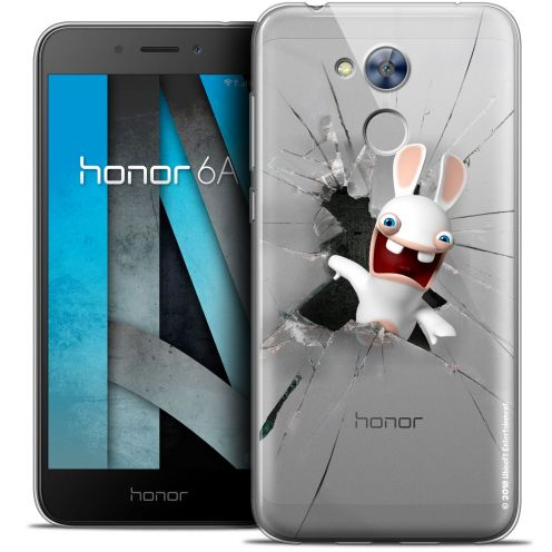 "Coque Gel Huawei Honor 6A (5"") Extra Fine Lapins Crétins™ - Breaking Glass"