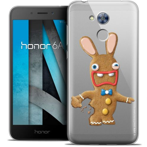 "Coque Gel Huawei Honor 6A (5"") Extra Fine Lapins Crétins™ - Cookie"