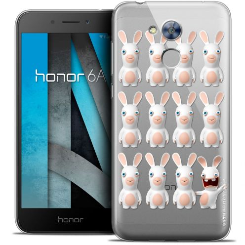 """Coque Gel Huawei Honor 6A (5"""") Extra Fine Lapins Crétins™ - Im ready Pattern"""