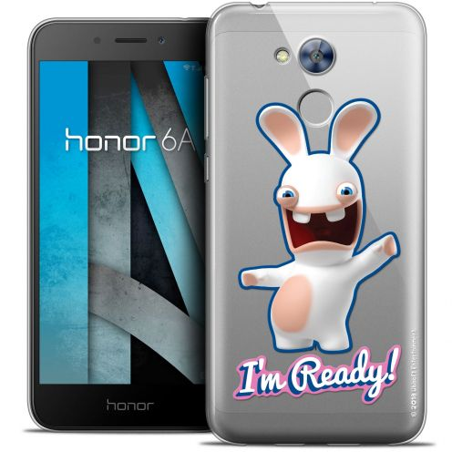 """Coque Gel Huawei Honor 6A (5"""") Extra Fine Lapins Crétins™ - I'm Ready !"""