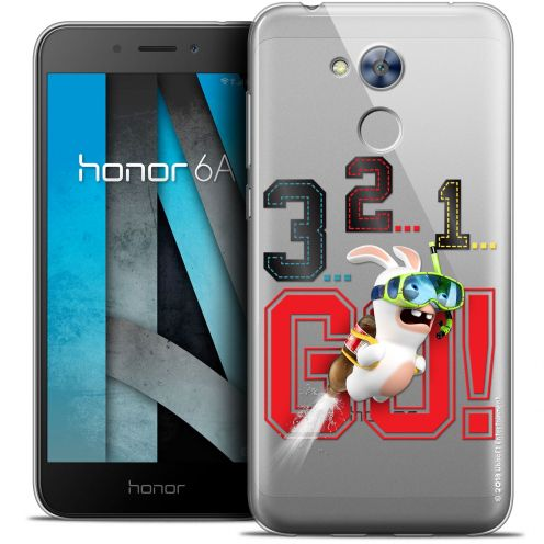 """Coque Gel Huawei Honor 6A (5"""") Extra Fine Lapins Crétins™ - 321 Go !"""