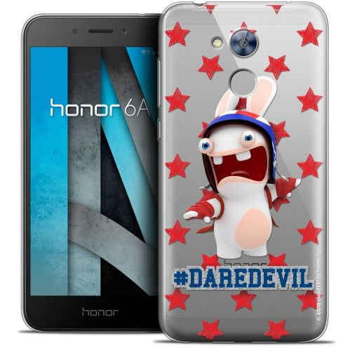 "Coque Gel Huawei Honor 6A (5"") Extra Fine Lapins Crétins™ - Dare Devil"