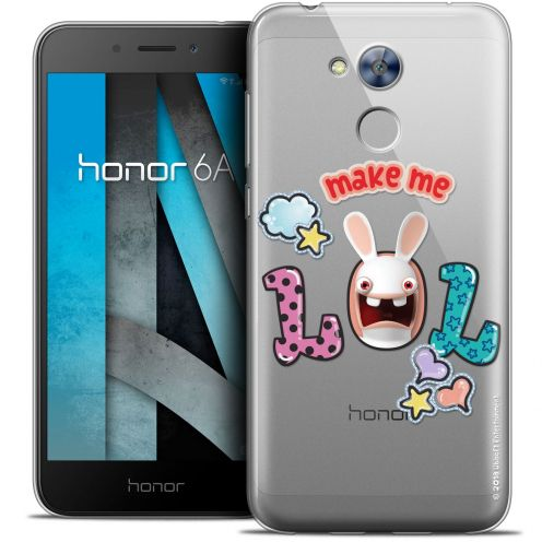 """Coque Gel Huawei Honor 6A (5"""") Extra Fine Lapins Crétins™ - LOL"""
