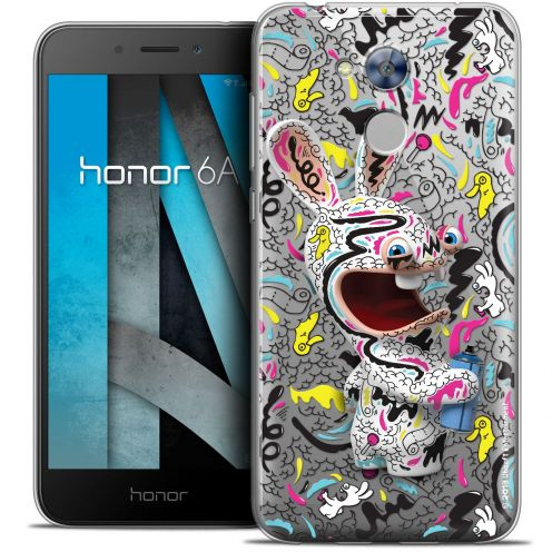 """Coque Gel Huawei Honor 6A (5"""") Extra Fine Lapins Crétins™ - Tag"""