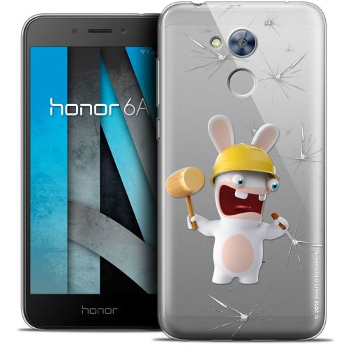 """Coque Gel Huawei Honor 6A (5"""") Extra Fine Lapins Crétins™ - Breaker"""