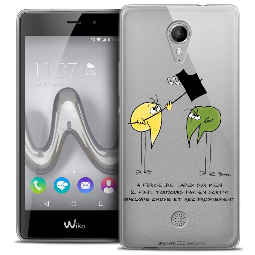 Coque Gel Wiko Tommy Extra Fine Les Shadoks® - A Force