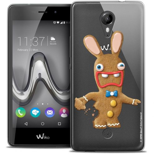 Coque Gel Wiko Tommy Extra Fine Lapins Crétins™ - Cookie