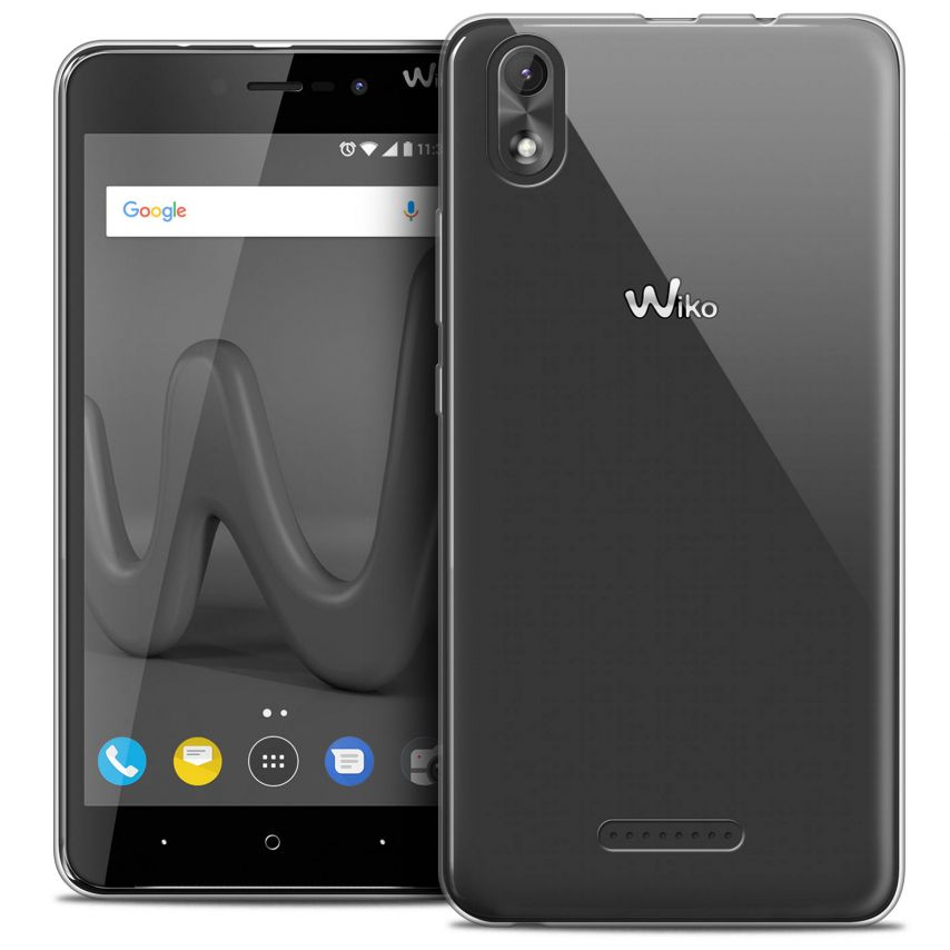 """Coque Wiko Lenny 4 PLUS (5.5"""") Extra Fine Souple Crystal Clear"""