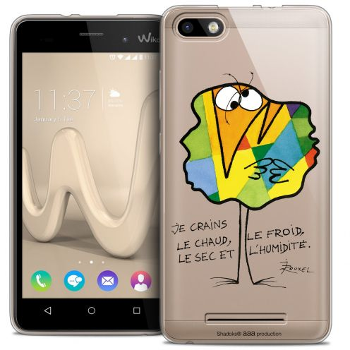 Coque Gel Wiko Lenny 3 Extra Fine Les Shadoks® - Chaud ou Froid