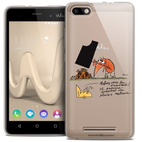 Coque Gel Wiko Lenny 3 Extra Fine Les Shadoks® - Le Travail