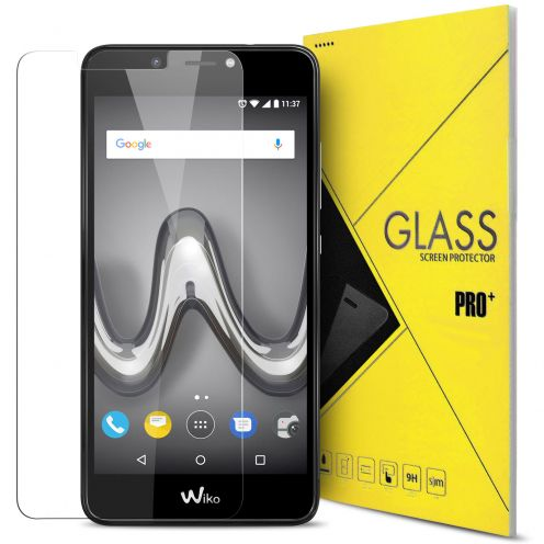 "Protection d'écran Verre trempé Wiko Tommy 2 PLUS (5.5"") 9H Glass Pro+ HD 0.33mm 2.5D"