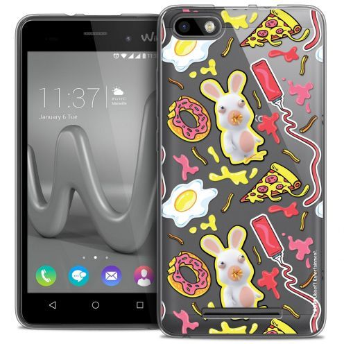Coque Gel Wiko Lenny 3 Extra Fine Lapins Crétins™ - Egg Pattern